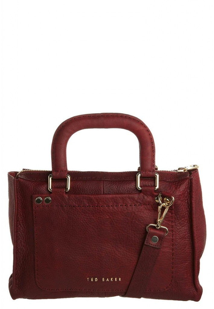 Sac a main rouge Ted Baker