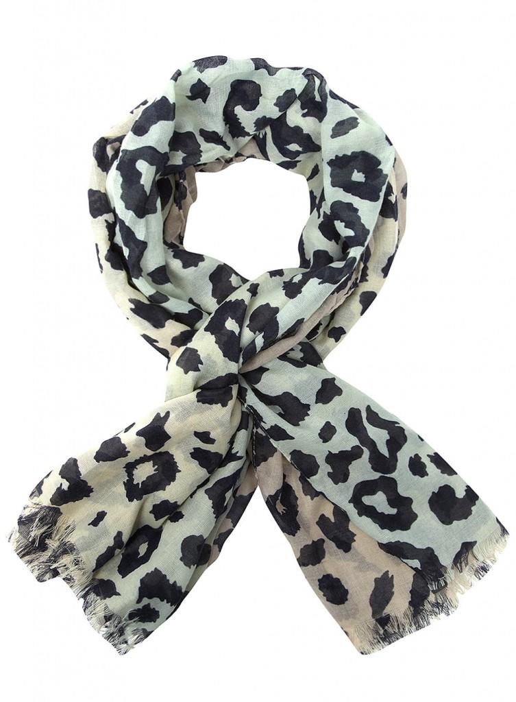 Foulard léopard pas cher