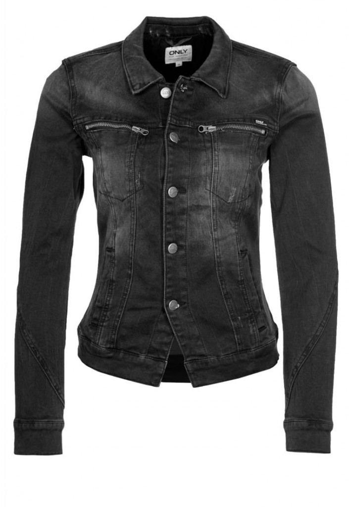 Veste en jean noir Only