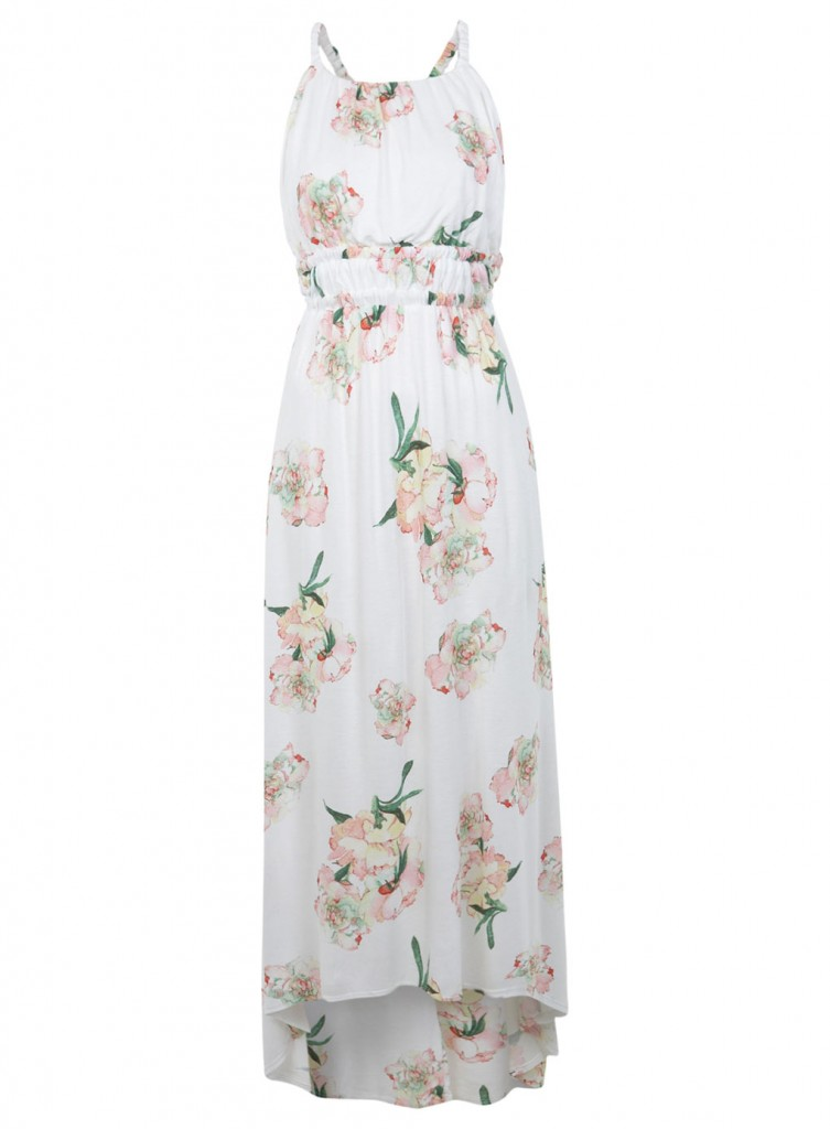 Robe longue été imprimé fleuri Miss Selfridge