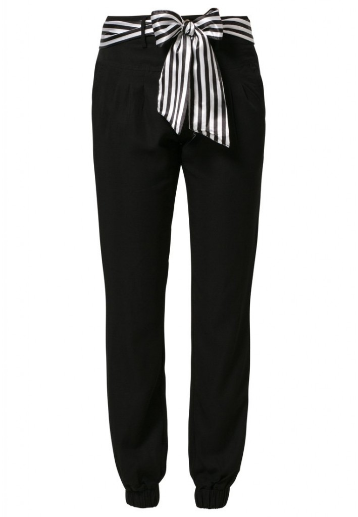 Pantalon noir Morgan