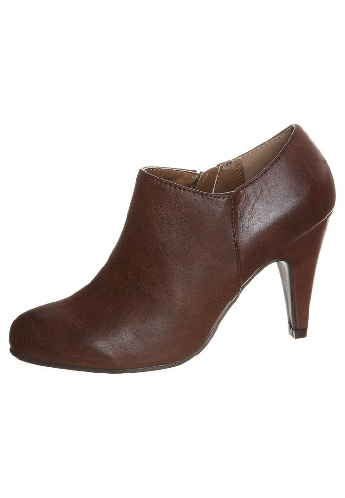 Boots marron talon Anna Field