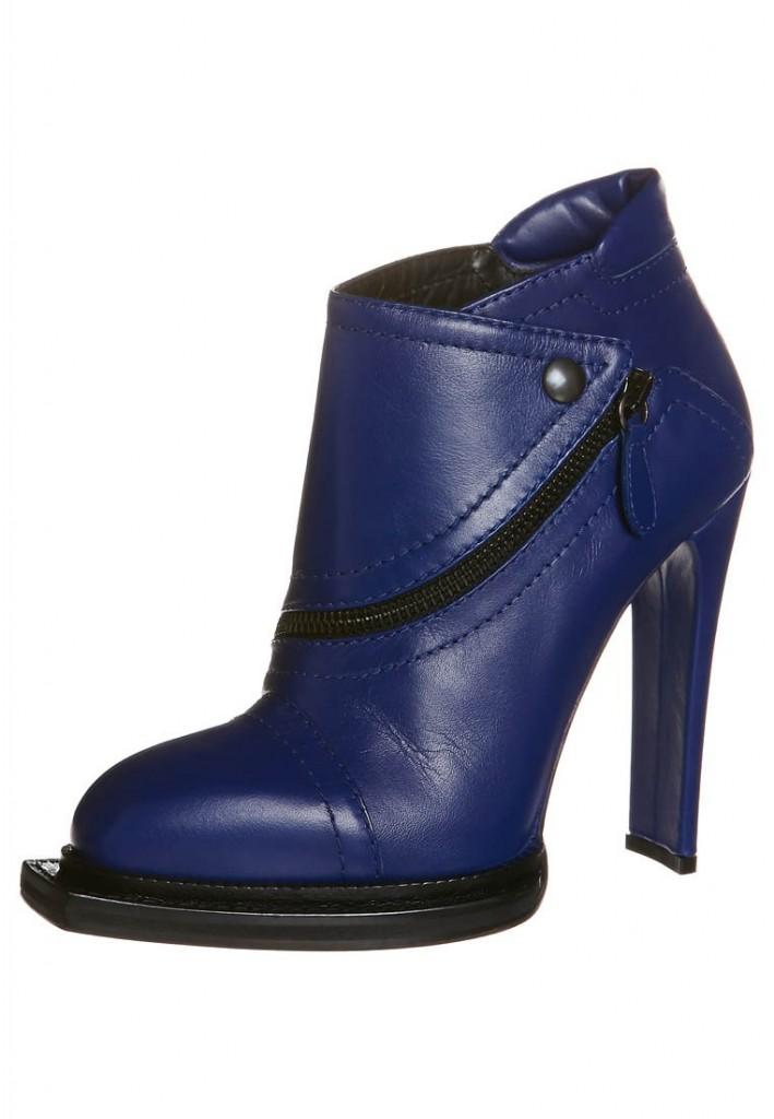 Boots talons bleu McQ Alexander McQueen