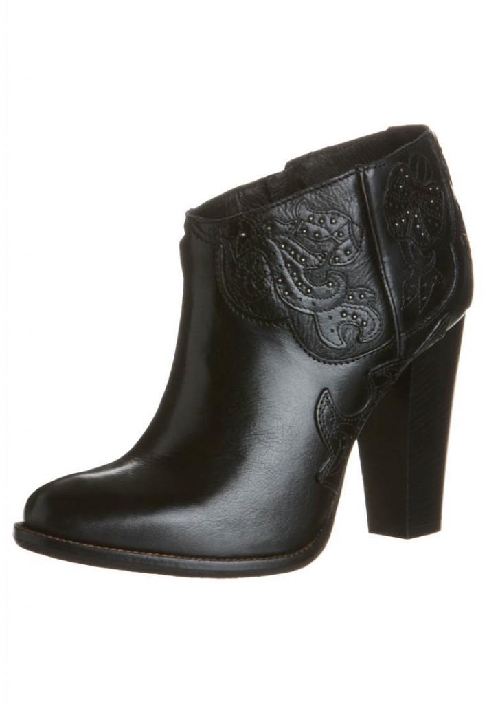 Boots talons noir Diesel