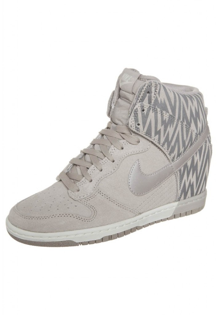 Dunk sky High Nike beige