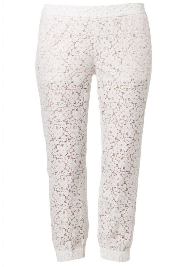 Pantalon dentelle blanc Odd Molly