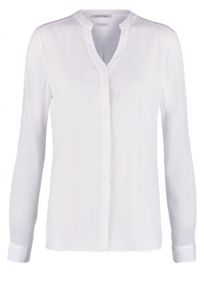 Blouse blanche Rich Royal