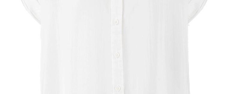 Le must have du printemps 2015 : la blouse blanche