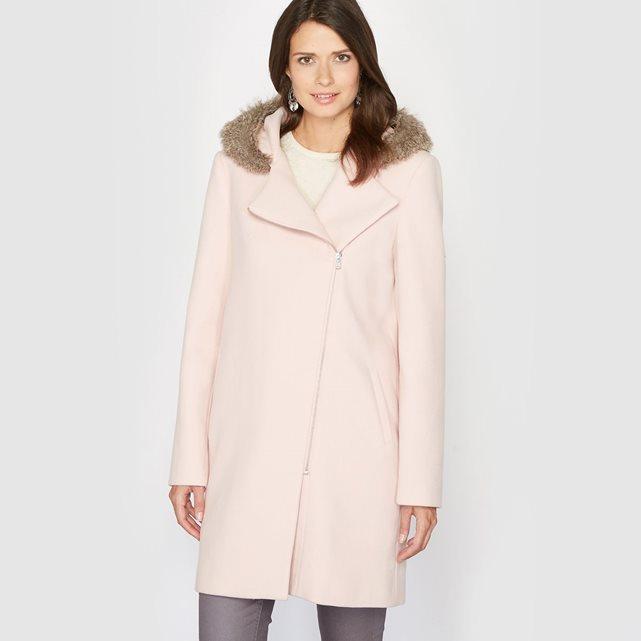 Manteau rose pastel Anne Weyburn