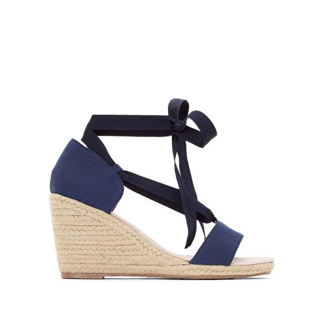 Sandales compensées espadrilles