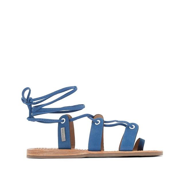 Sandales spartiates cuir Les Tropeziennes