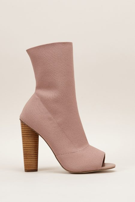 Sandales talons hauts rose nude Steve Madden