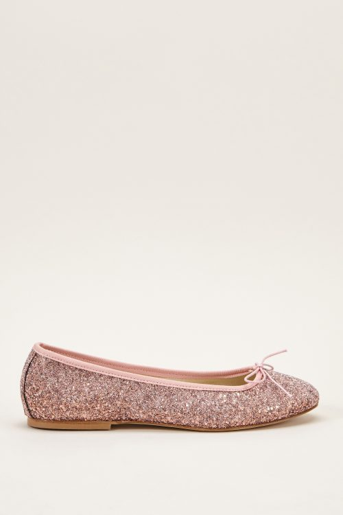 Ballerines rose paillettes Anniel