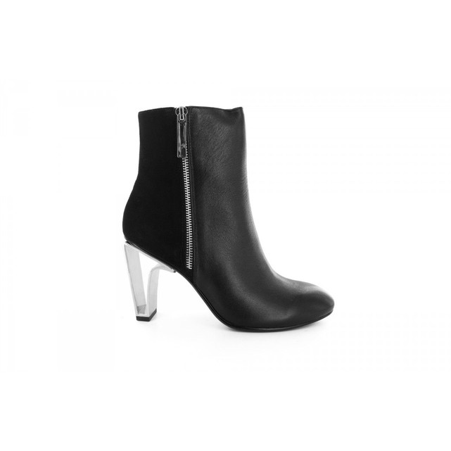 Bottines cuir noires femme United Nude