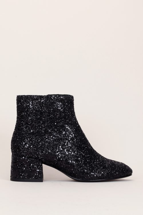 Bottines paillettes noires Ash
