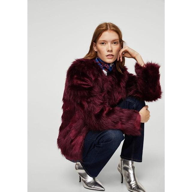 Manteau tendance femme 2018   la veste en fausse fourrure – Made In ... 295ec84e0696