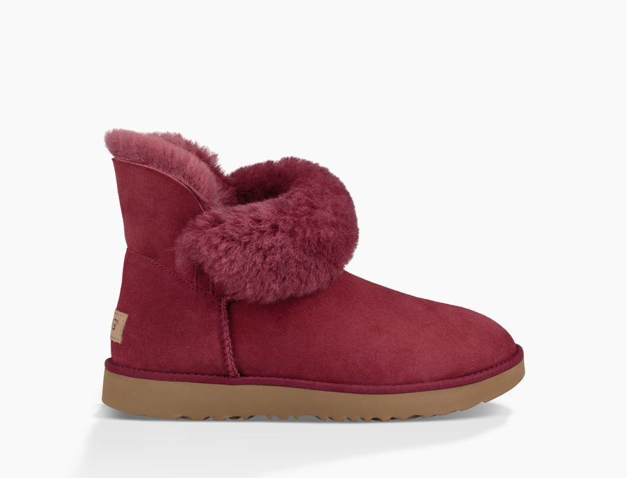 Chaussures UGG femme rouge