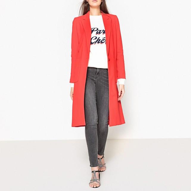 Veste tailleur femme oversize rouge Ba&sh