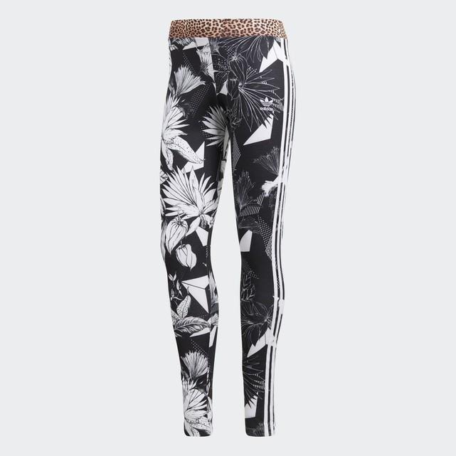Legging imprimé fleurs Adidas Originals