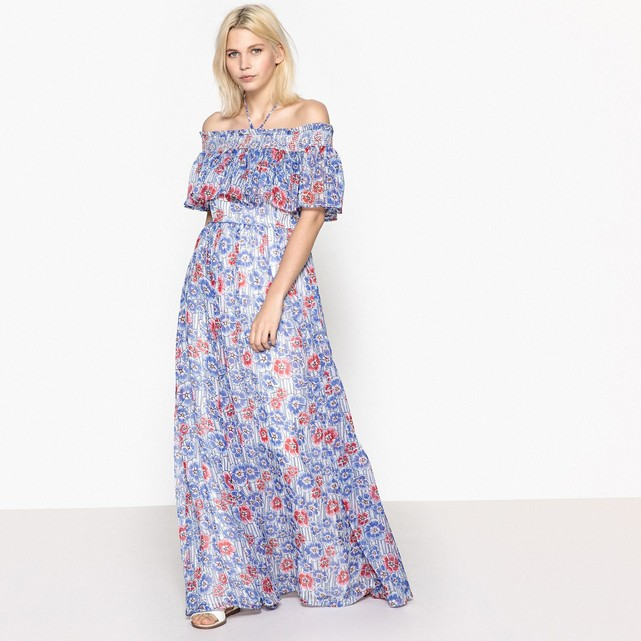 Robe longue fleurs Pepe Jeans