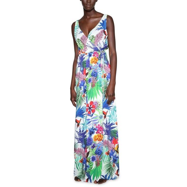Robe longue fleurs exotiques Desigual