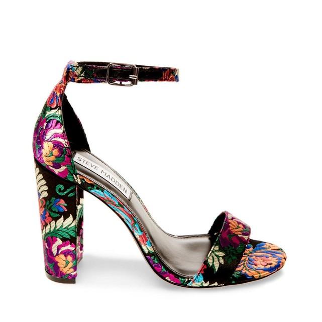Sandale à talons motif floral Steve Madden