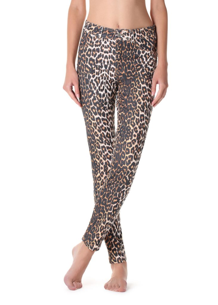 Legging push up imprime leopard animal Calzedonia