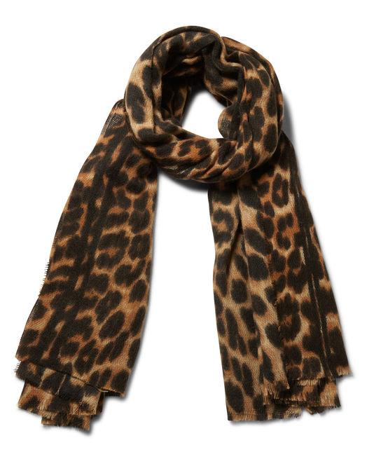 Foulard hiver femme imprime leopard Minelli