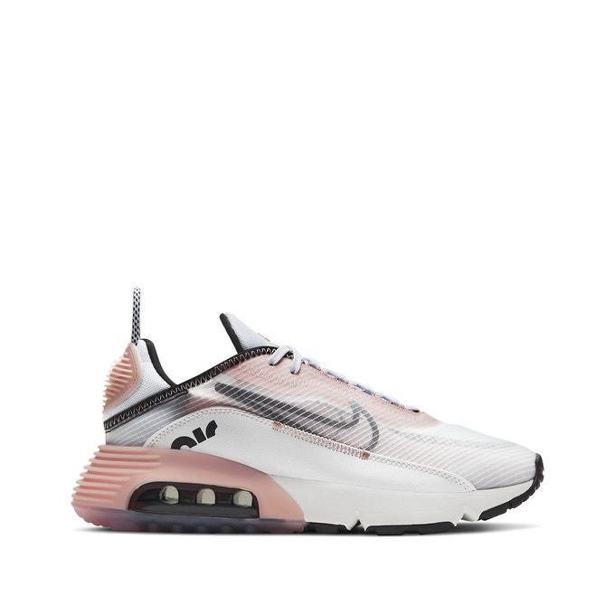 Baskets tendances femmes Nike Air Max 2090 blanc rose